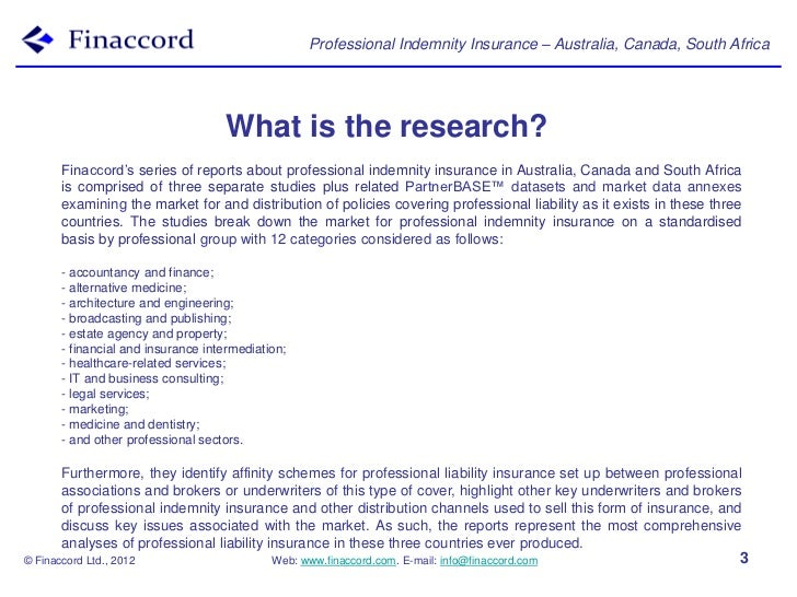 Series prospectus professional_indemnity_insurance ...