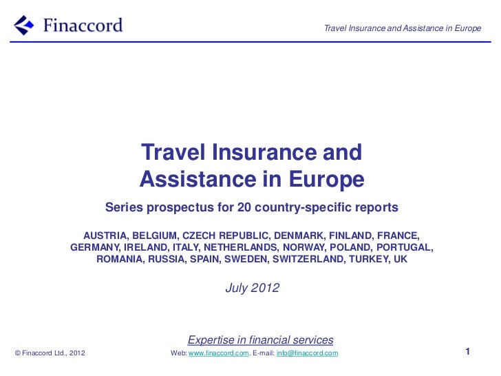 Travel Insurance and Assistance in Europe                              Travel Insurance and                              A...