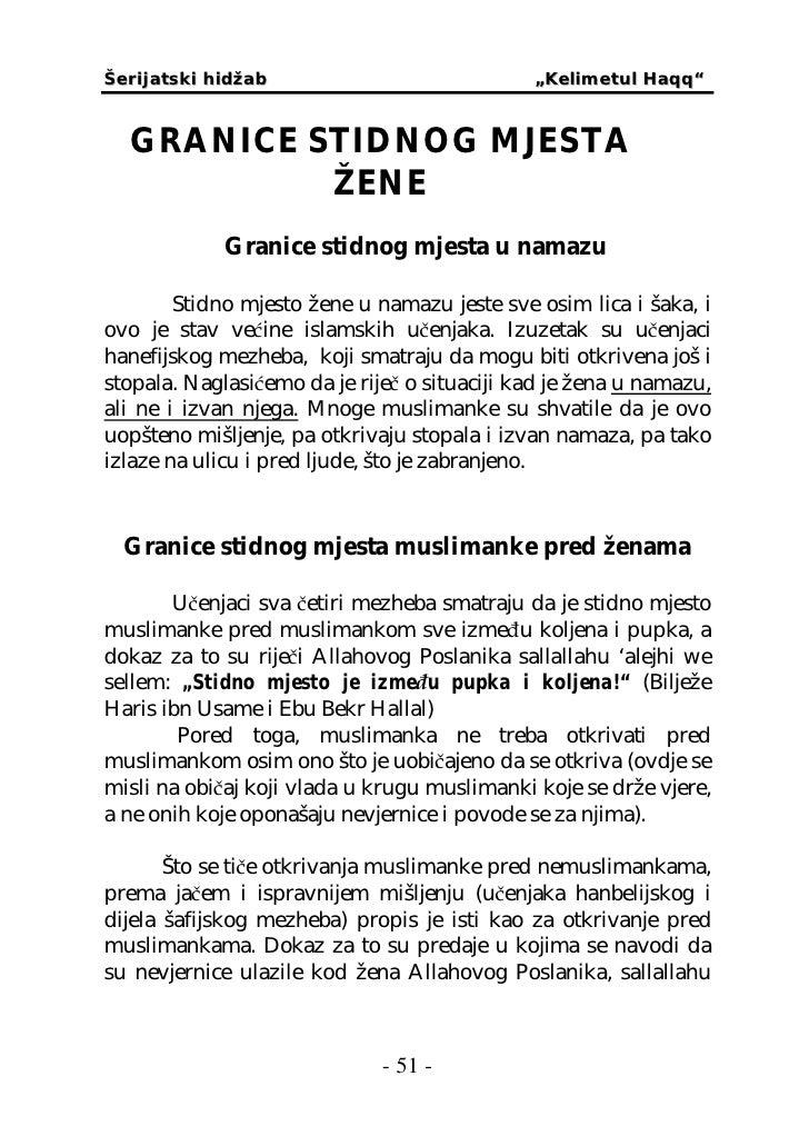 Brak za iz muslimanke bosne ZAŠTO JE