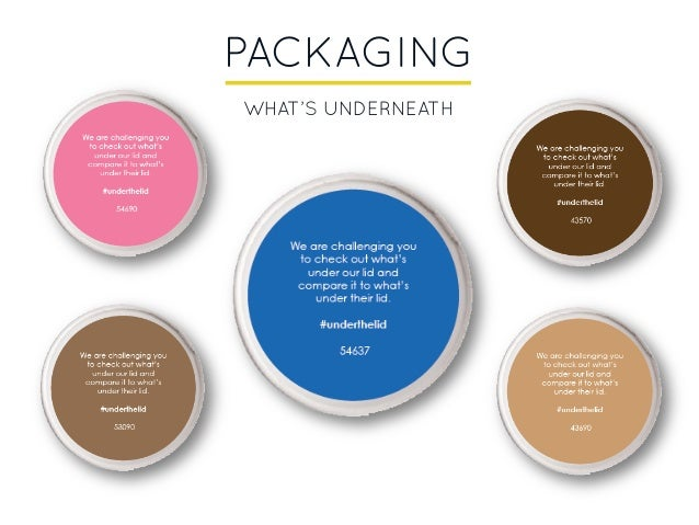 PACKAGING WHAT'S UNDERNEATH