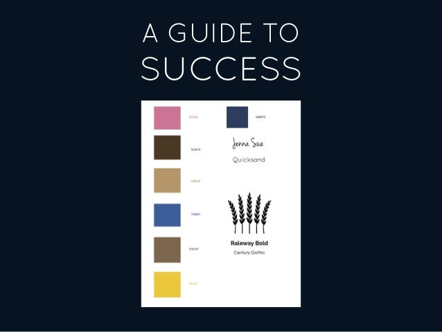 A GUIDE TO SUCCESS