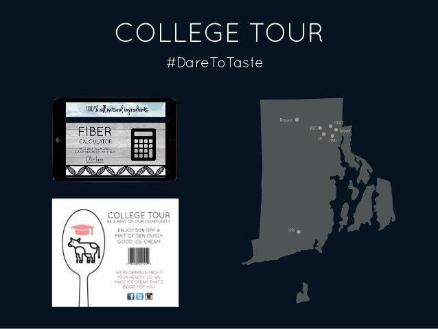 COLLEGE TOUR #DareToTaste