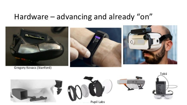 Hardware Improvements (Last 5 Years) • Beyond Medical • Though this is still the best for reliable data • Consumer Awarene...