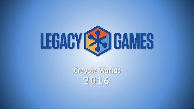 Crayola Worlds 2016