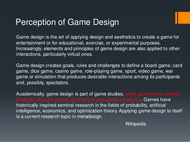 What Is A Game Designer And Why Do You Need One Douglas Whatley