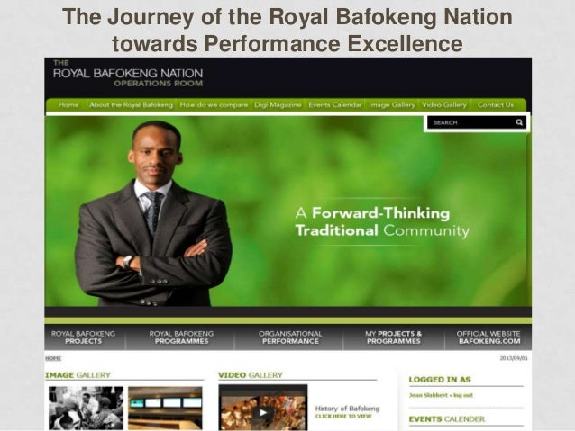 The Journey of the Royal Bafokeng Nation    towards Performance Excellence
