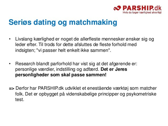 Alt om kærlighed matchmaking