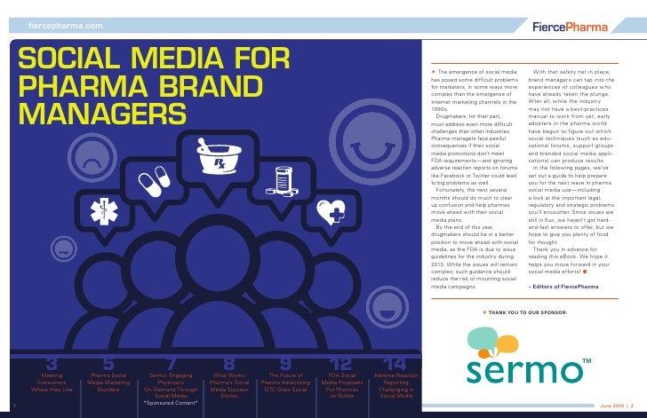 fiercepharma.com     Social Media for  PharMa Brand                                                                       ...
