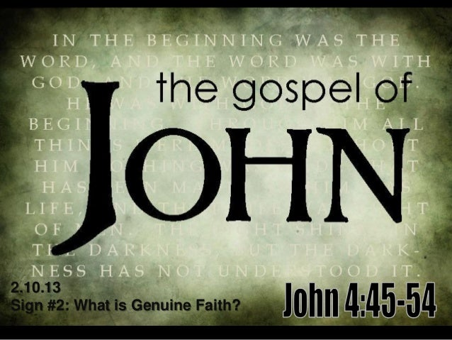2.10.13Sign #2: What is Genuine Faith?