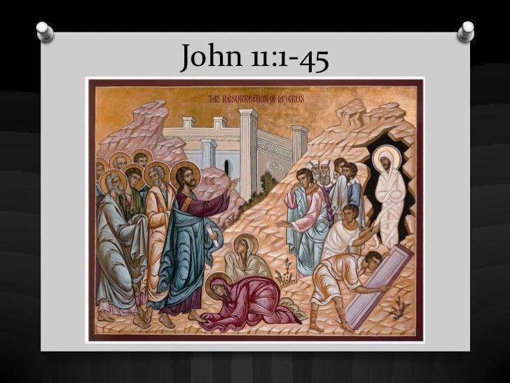 John 11:1-45
