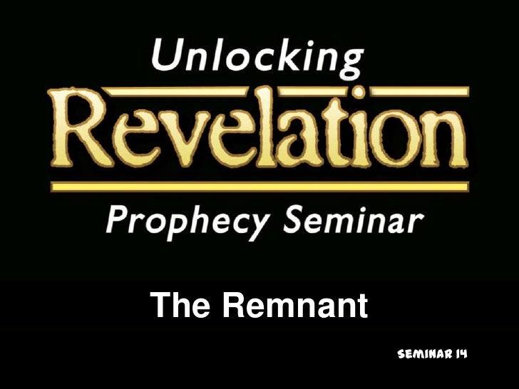 The Remnant<br />Seminar 14<br />