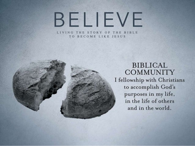 Koinonia—Biblical Community • Acts 2:40-47; 4:32-35; 2:1-4 –They devoted themselves to koinonia • Philippians 1:27-2:4 –Th...