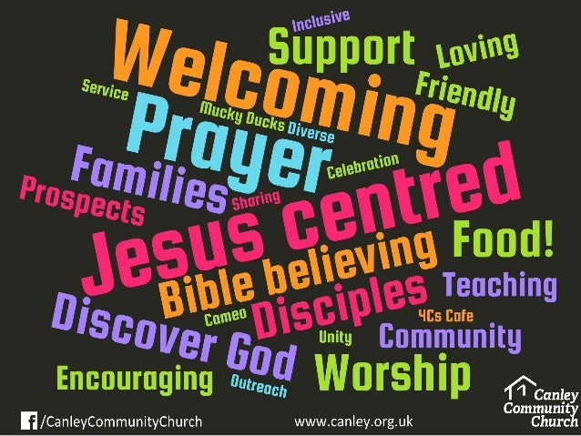 Growing Healthy Churches The Churches' Mission 1. Energised by Faith 2.Outward looking Focus The Churches' Purpose 3. Seek...