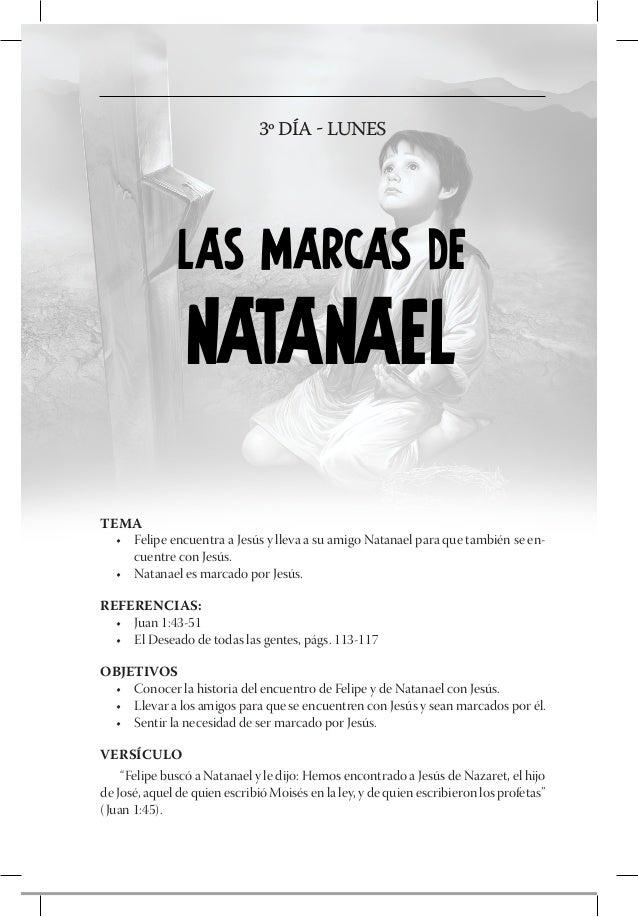 4º DÍA - MARTES              LAS MARCAS DE               BARTIMEOTEMA  • Bartimeo fue persistente y Jesús curó su ceguera...