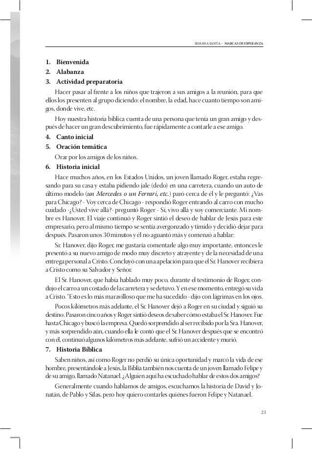 SEMANA SANTA - MARCAS DE ESPERANZA1. Alabanza2. Bienvenida3. Actividad preparatoria    Usar una venda para cerrar los o...
