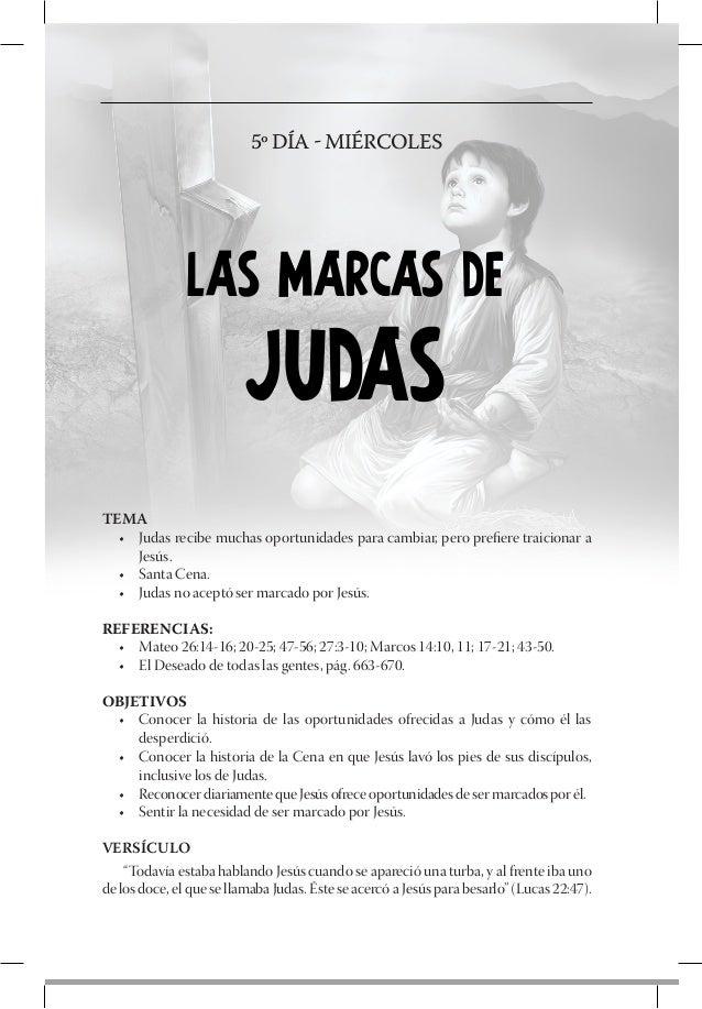 6º DÍA - JUEVES              LAS MARCAS DE                         SIMÓNTEMA  • Simón de Cirene lleva la cruz de Jesús  •...