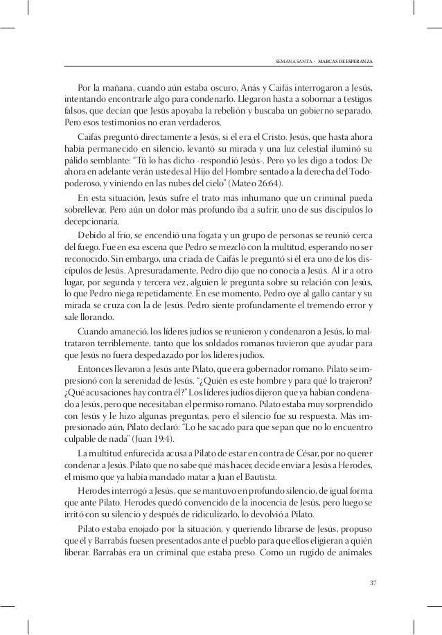 SEMANA SANTA - MARCAS DE ESPERANZA1. Alabanza2. Bienvenida3. Actividad preparatoria4. Canto inicial5. Oración temátic...