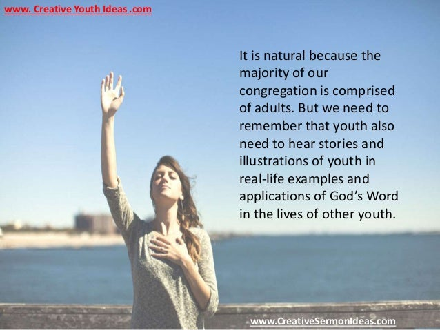 Sermon For Kids - 4 Reasons Youth Stop Attending Worship