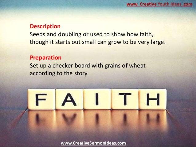 Sermon For Kids - Checkerboard Faith