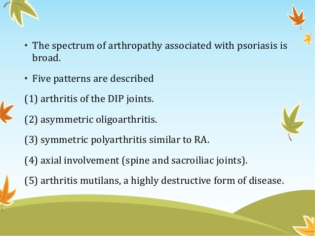 psoriasis spondarthritis