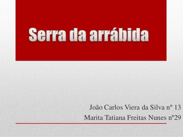 João Carlos Viera da Silva nº 13Marita Tatiana Freitas Nunes nº29