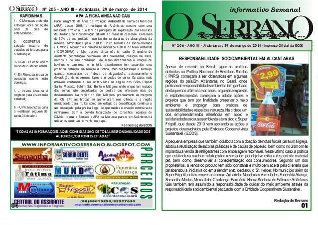 thNA00000000000000000000000000 sssaf RESPONSABILIDADE SOCIOAMBIENTAL EM ALCANTARAS A pequena empresa que também colabora c...