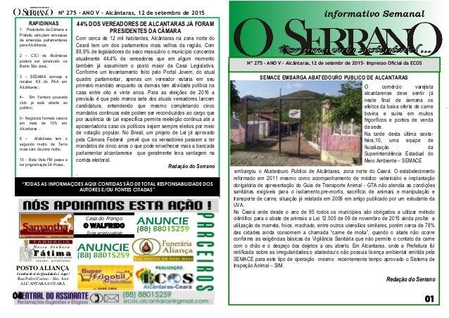 NA00000000000000000000000000 sssaf SEMACE EMBARGA ABATEDOURO PUBLICO DE ALCANTARAS embargou o Abatedouro Publico de Alcânt...
