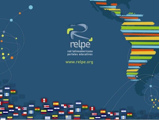 red regional de portales • educativos • nacionales • de servicio público • sin fines de lucro • orientados al sistema esco...