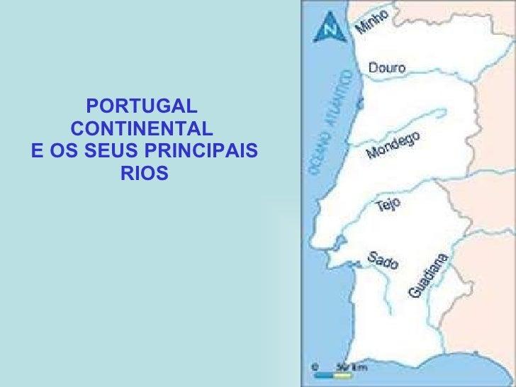 rios de portugal continental mapa Mapa Dos Principais Rios De Portugal | thujamassages rios de portugal continental mapa