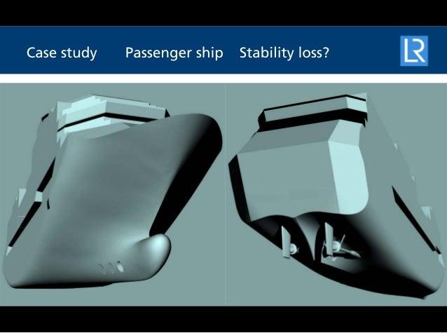 SERS case study - Passenger ship stability loss
