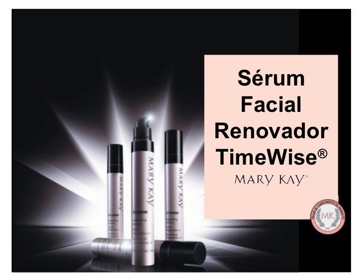 Sérum Facial Renovador TimeWise ®