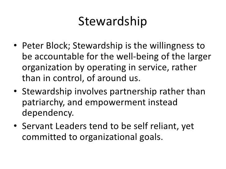 Robert Greenleaf was concerned about the effect that leadership  has on least privileged in society.</li></li></ul><li>Bei...
