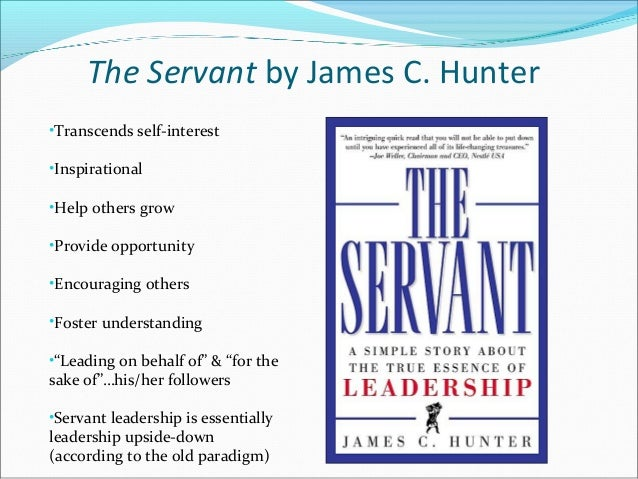 the servant james hunter pdf
