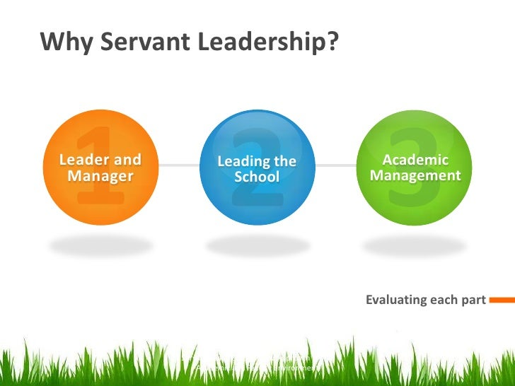 Evaluating Servant Leadership