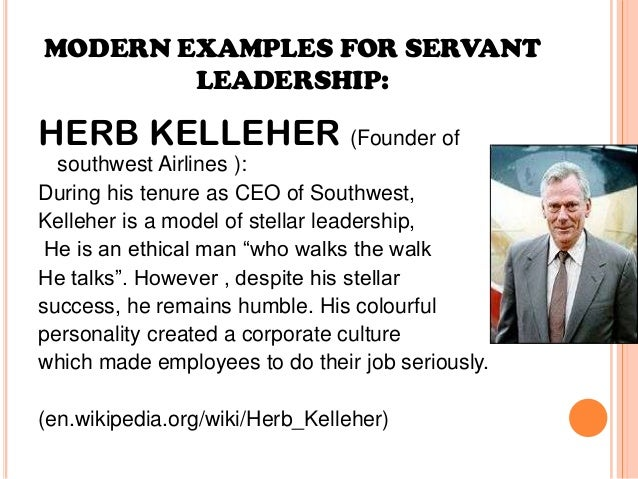 qualities of servant leadership Servant leadership is a style of leadership studied by contemporary management theorists in this lesson, you will learn what servant leadership is, discover its characteristics, and be provided.