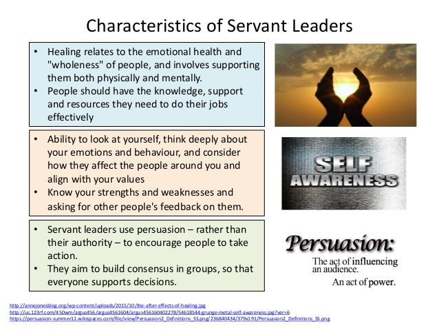 weakness of servant leadership Leadership is an important requirement in the ' treat ' every weakness in all actions taken from this finding suggests that servant leadership positively and.