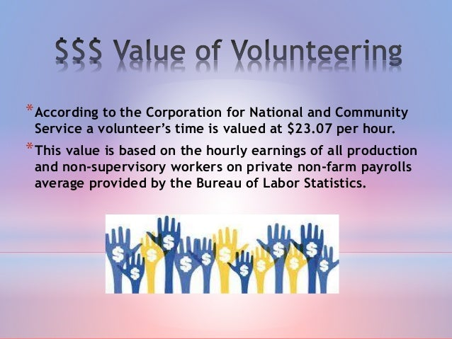 essay on benefits of community service