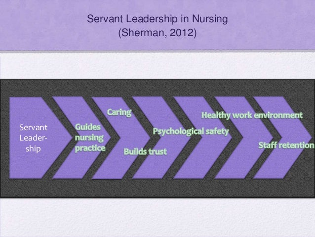 servant leadership in healthcare For several years i experienced one of the most rewarding jobs i ever had which working in the healthcare industry in a hospital with an adjoining extended care facility.