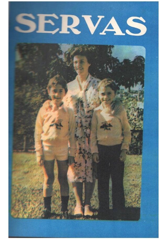 Servas 1981 - Terceiro Trimestre  - PRIMEIRA PUBLICAÇÃO
