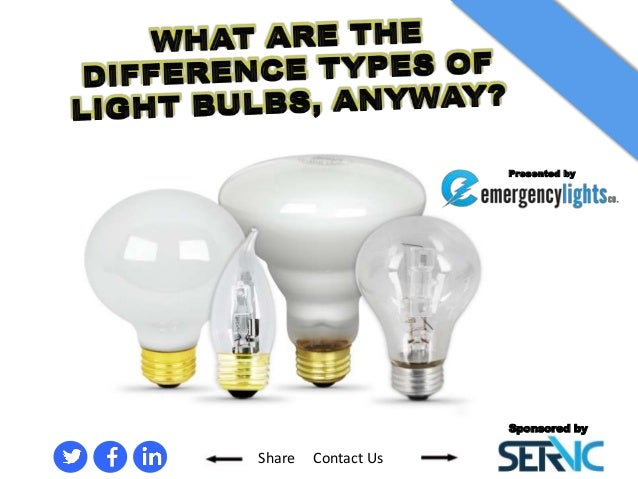 … And The What's Led Bulband Difference Between A Incandescent Light 6gyf7vYb