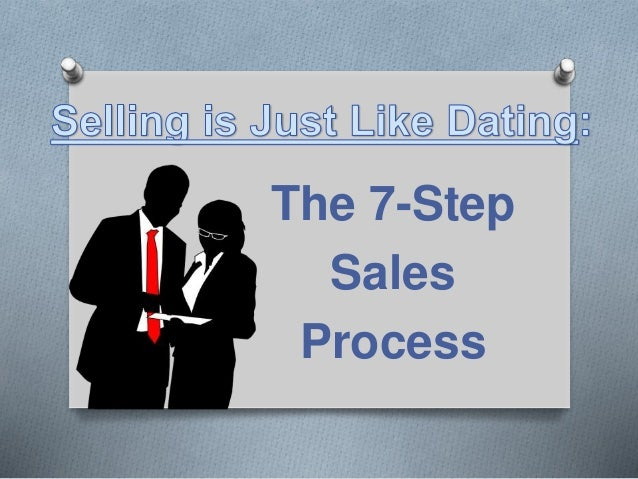 Sales is like dating