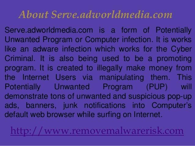 Effective method to remove Serve adworldmedia com