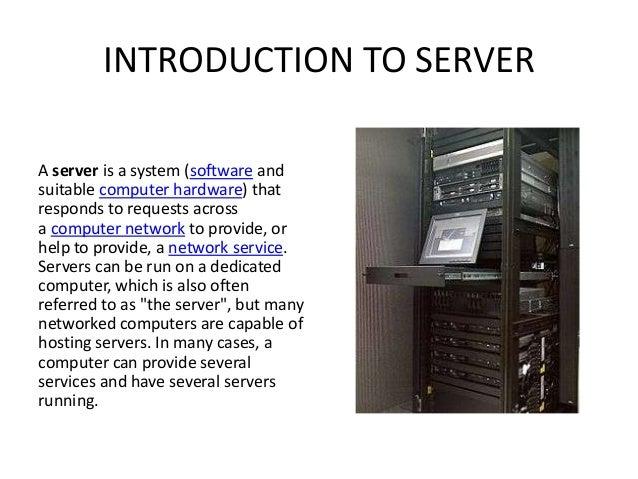 basic server ppt thdc