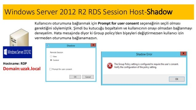 Server 2012 r2 remote desktop services