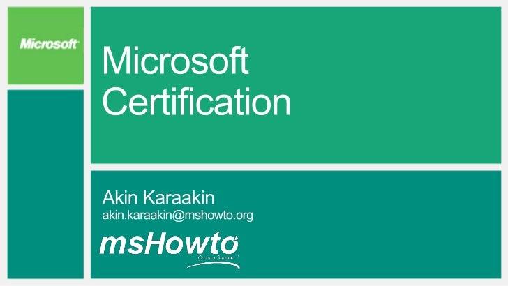 Product/job role focus       Solution/cloud focus            Microsoft Certified Master   Microsoft Certified Solutions   ...