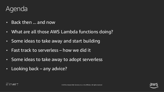 Serverless:It All Started in Vegas (DVC306) - AWS re:Invent 2018 Slide 3