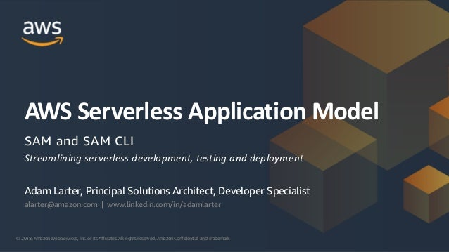Serverless-AWS SAM CLI Session: Developer Meet Up