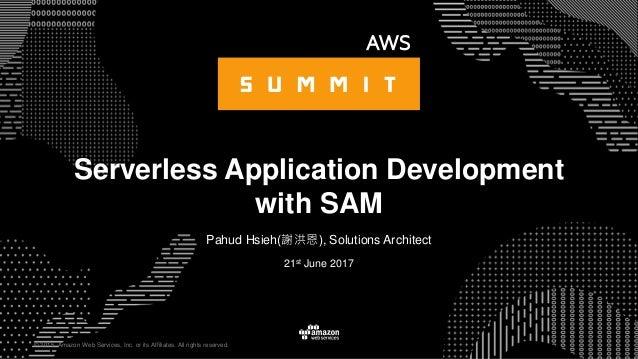 Serverless Application Development with SAM