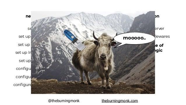 "@theburningmonk theburningmonk.com ""we ain't gonna need it"" translation: ""we will never be successful"""
