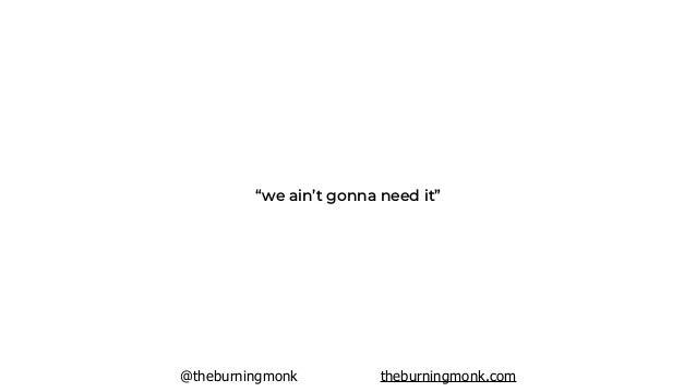 @theburningmonk theburningmonk.com prepare for success
